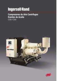 Compresores de Aire Centrífugos Exentos de Aceite - Ingersoll Rand