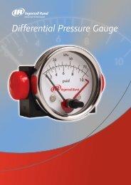 Differential Pressure Gauge - Ingersoll Rand