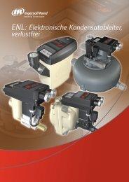 ENL: Elektronische Kondensatableiter, verlustfrei - Ingersoll Rand