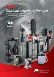 Metall-Membranpumpe, 2 - Ingersoll Rand