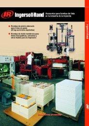 Accesorios para bombas de tinta en la industria de ... - Ingersoll Rand