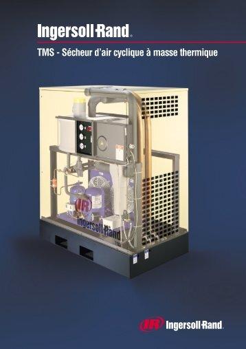 TMS - Sécheur d'air cyclique à masse thermique - Ingersoll Rand