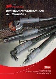 Industrieschleifmaschinen - Ingersoll Rand
