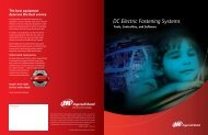 DC Electric Fastening Systems - Ingersoll Rand