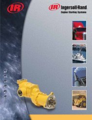 Engine Starting Systems - Ingersoll Rand