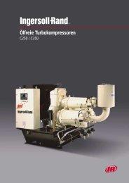 Ölfreie Turbokompressoren - Ingersoll Rand