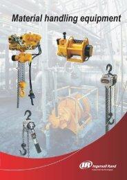 Material handling equipment - Ingersoll Rand