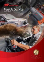 Vehicle Service - Ingersoll Rand