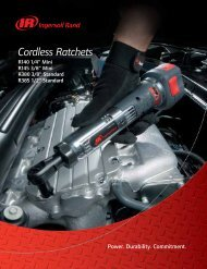 Cordless Ratchets - Ingersoll Rand