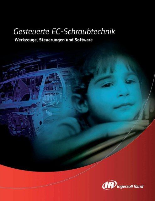 Gesteuerte EC-Schraubtechnik - Ingersoll Rand