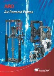 Air-Powered Pumps - Ingersoll Rand