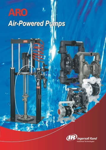 Air-Powered Pumps - Ingersoll Rand