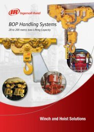BOP Handling Systems - Ingersoll Rand