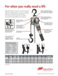 Lever Hoist - Ingersoll Rand - Page 2