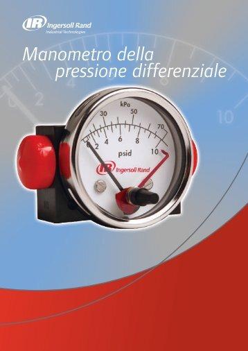 Manometro della pressione differenziale - Ingersoll Rand