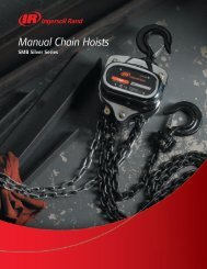 Manual Chain Hoists - Ingersoll Rand