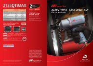 2135QTiMAX 4p-FRENCH ok:Mise en page 1 - Ingersoll Rand