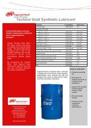Techtrol Gold Synthetic Lubricant.pub - Ingersoll Rand