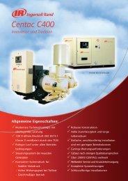 C400 Brochure - Ingersoll Rand