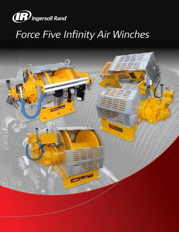 Force Five Infinity Air Winches - Ingersoll Rand