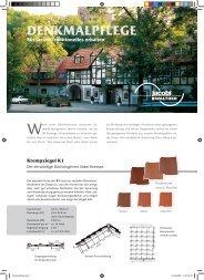 Denkmalpflege PDF - ingFinder