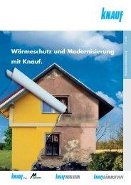 Wärmeschutz und Modernisierung mit Knauf PDF - ingFinder