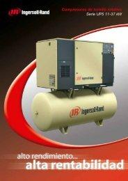 Compresores de tornillo rotativo Serie UP5 11-37 kW - Ingersoll Rand
