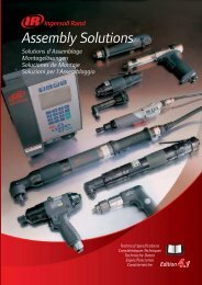 Assembly Solutions - Ingersoll Rand