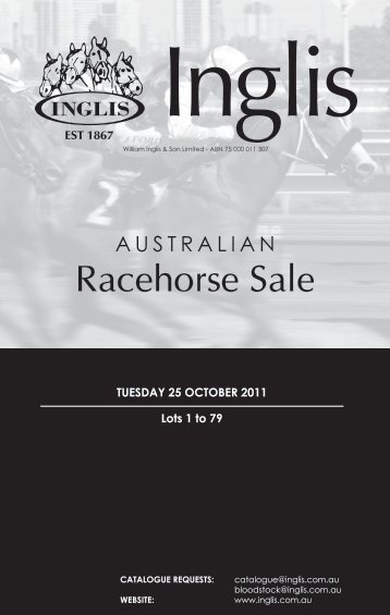 Download the complete catalogue (PDF) - Inglis