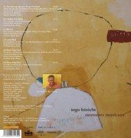 CD-Info als PDF - ingo höricht