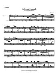 Vollmond Serenade für Bb-Klarinette und Cello .mus - ingo höricht