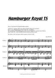 Hamburger Royal TS - ingo höricht