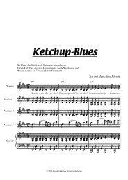 Ketchup-Blues - ingo höricht