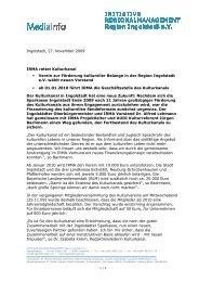 091127 IRMA_Kulturkanal - IngolstadtLandPlus