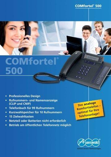COMfortel® 500 - Computer-Tempel