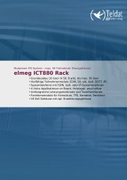 elmeg ICT880 Rack - Ingram Micro