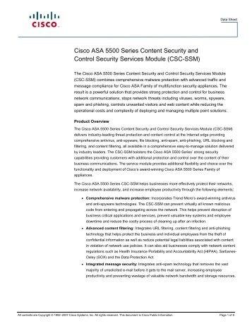CSC-SSM - Ingram Micro