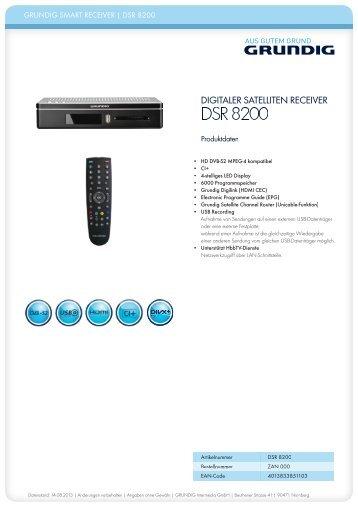 DSR 8200 - Ingram Micro
