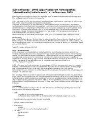 Svineinfluenza - LMHI (Liga Medicorum ... - ingrid wawra