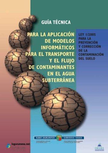 Guia Técnica para la aplicación de modelos informáticos