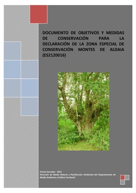 ES211 0016 Montes de Aldaia - Euskadi.net