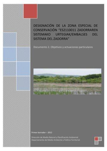 ES2110011 Embalses del sistema del Zadorra