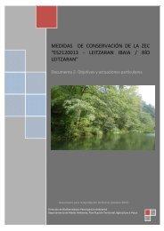 es2120013 - leitzaran ibaia / río leitzaran - Euskadi.net
