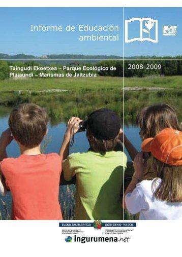 Informe de Educación ambiental