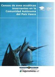 Censos de aves acuáticas invernantes en la ... - Euskadi.net