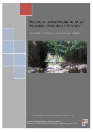 Río Arakil. Documento 2. Objetivos y actuaciones ... - Euskadi.net