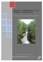 Río Lea. Documento 2. Objetivos y actuaciones particulares (pdf, 10 ...