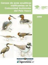 Censos de aves acuáticas nidificantes en la Comunidad Autónoma ...