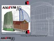 AxisVM 10   Präsentation (Download)