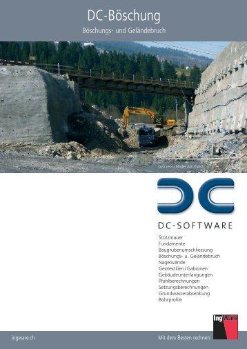 Flyer DC-Böschung - IngWare GmbH